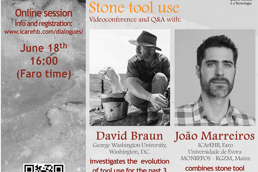 "ICArEHB Dialogues presents ""Origins of Stone Tool Use"""